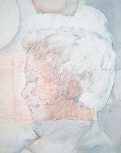 Portrait of Erik Johan Stagnelius by Swedish painter Carl Köhler (1919-2006)